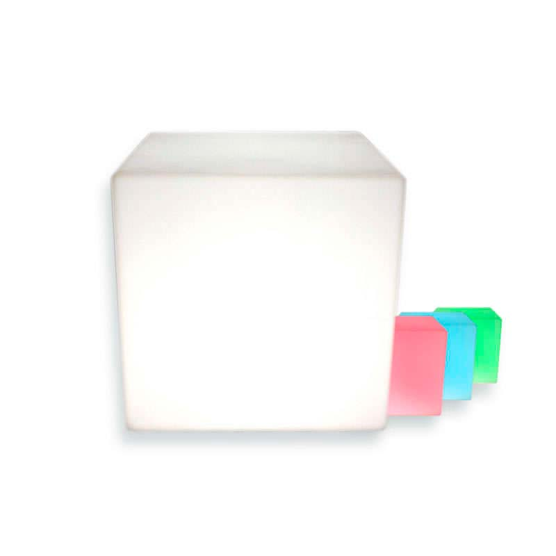 Cubo luminoso led LITEN KUB RGB recargable, RGB